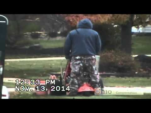 Surveillance video shows Medina man operating landscaping business while on workers' comp