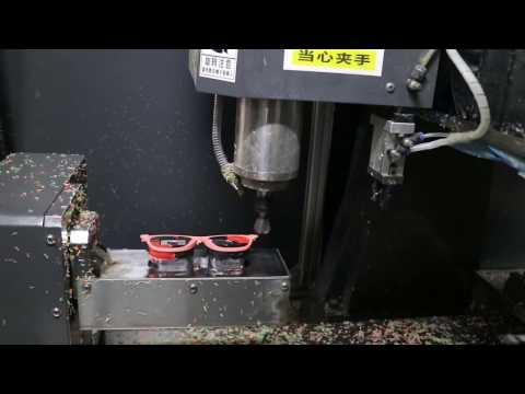 Amazing efficient  EYEWEAR acetate frameCNC machinery  ,CNC rounter for glasses