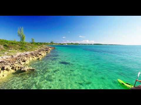 Drone Aerial - Spanish Wells Bahamas - 4k HD