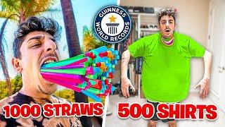 Break The MOST World Records, Win Shopping Spree!