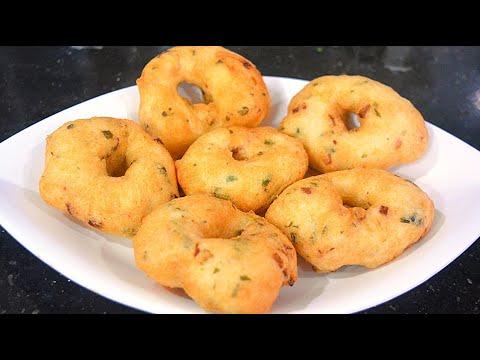 Crispy & Fluffy Medhu Vada Recipe   in Mixie