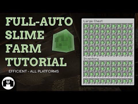 Slime Farm Tutorial 1.12 | ALL versions, FULL AUTO, EFFICIENT, EASY