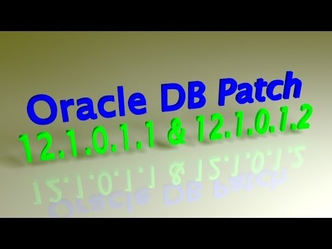 Oracle 12c DB Patching 12.1.0.1.2