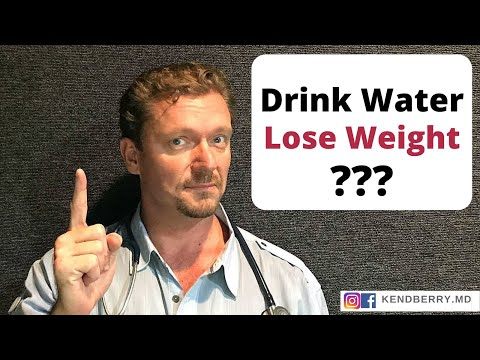 Drink This Much Water to Lose Weight...
