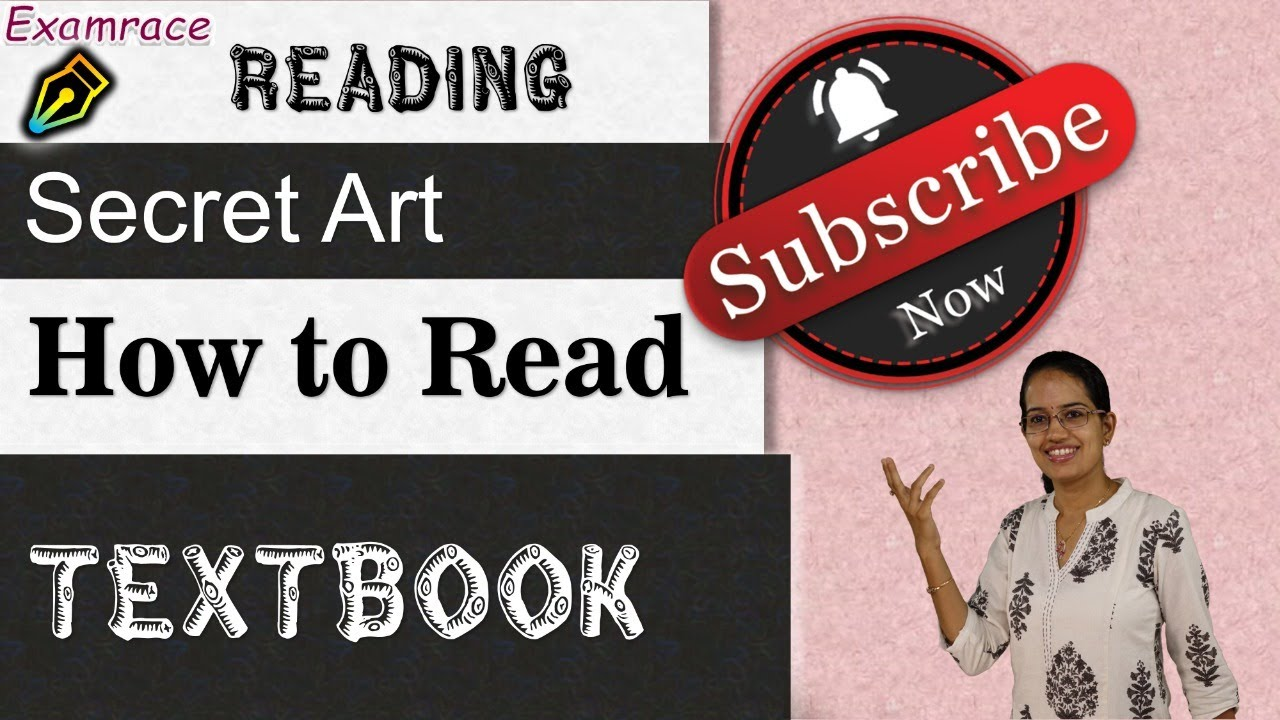 How to Read a Textbook? Art of Reading   Art of Writing Notes - Simple Hacks!