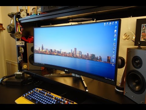BenQ EX3501R review - 35