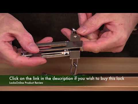 Asec Unlockable from outside door chain   AS3393   LocksOnline Product Review