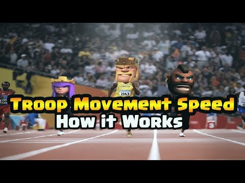 What is Movement Speed in CoC? Two-Minute Tutorial