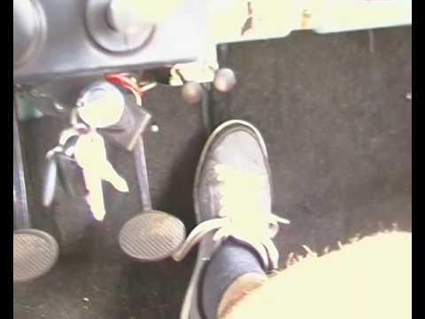 How to drive a Trabant 601 limousine, freewheeling