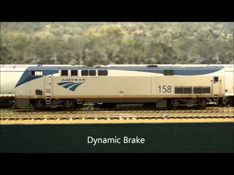 LokSound Select GE P42 Review Custom Amtrak #75 & #158