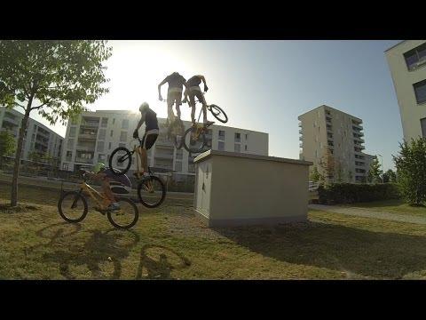 Lukas Spindler Street trial Summer 2013 Inspired Bicycles