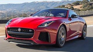 2017 Jaguar F-Type SVR Hot Lap! - 2016 Best Driver
