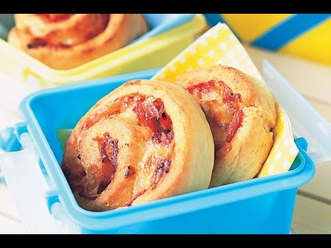 Cheesy Pizza Scrolls | One Pot Chef