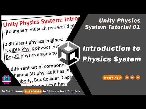 Unity Physics System Essentials - 01 - Introduction to Physics System