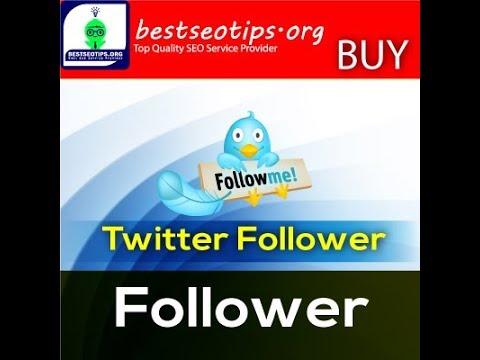 Buy Twitter Followers -  Buy Real Twitter Followers
