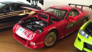 Fast & Furious die cast cars 1:18 Scale