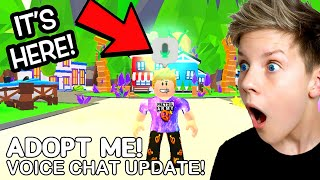 *IT'S HERE* VOICE CHAT IN ADOPT ME UPDATE! WORKING 2021