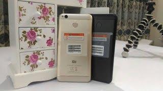 Xiaomi Redmi 4 | Black vs Golden Color Comparison