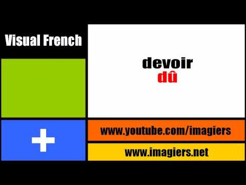 [Visual French] The past participle #1
