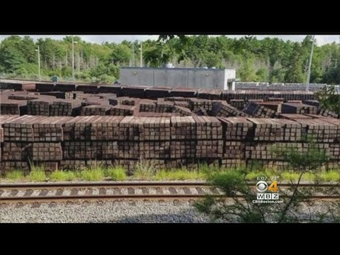 Middleboro Residents Sickened By Piles Of Railroad Ties