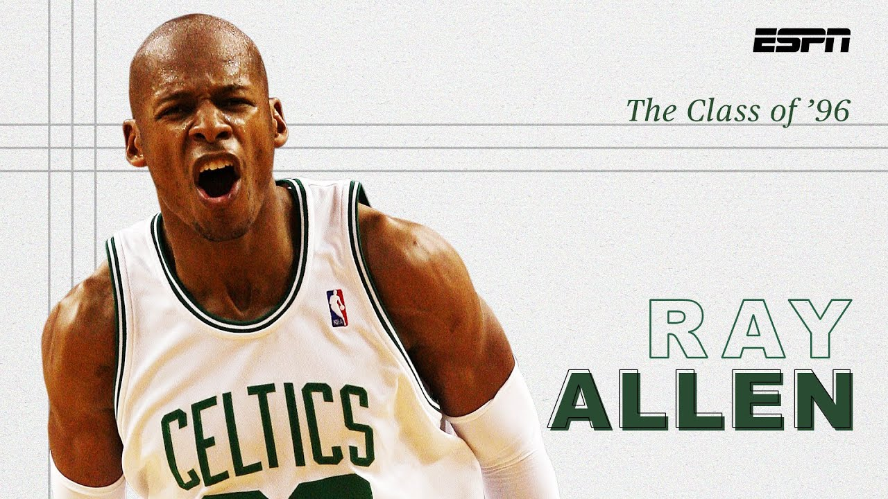 Ray Allen's 3-point shooting ushered in a new NBA era – and made him a legend | The Class of '96