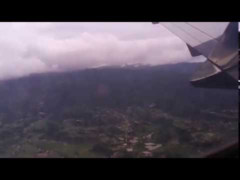 Take off from Tribhuwan International Airport, Nepal (Jetstream 41 9N AIH) Beautiful Kathmandu!