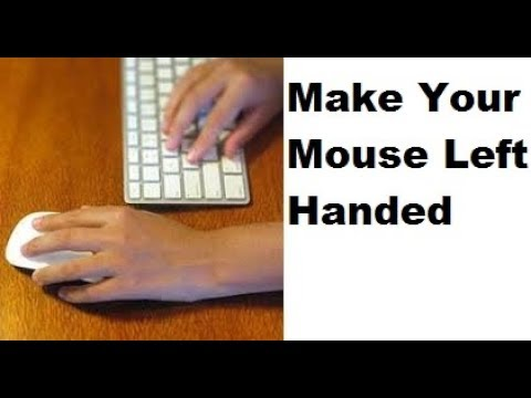 Turn Your Mouse Into a Left Handed Mouse