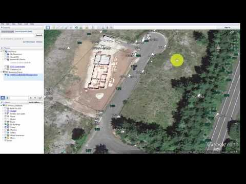 KML: Export Side Shots to Google Earth