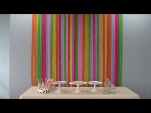 How To Set Up A Rainbow Party