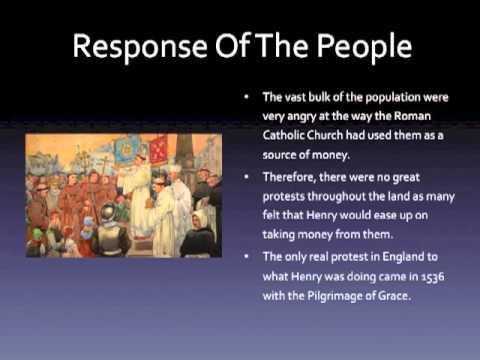 Henry VIII & The Church of England