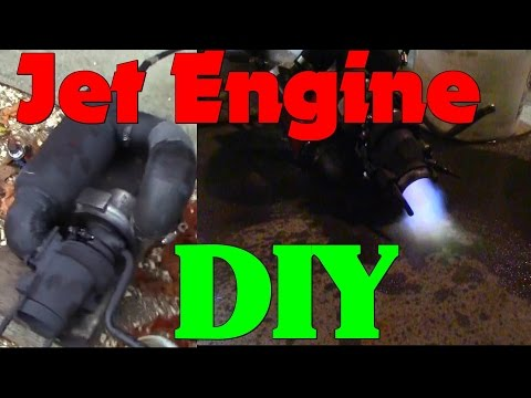 Quick TurboJet Engine Build