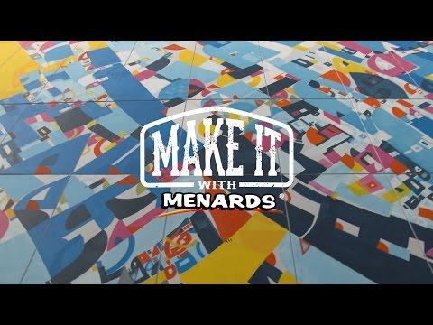 Make It With Menards – Artist Justus Roe
