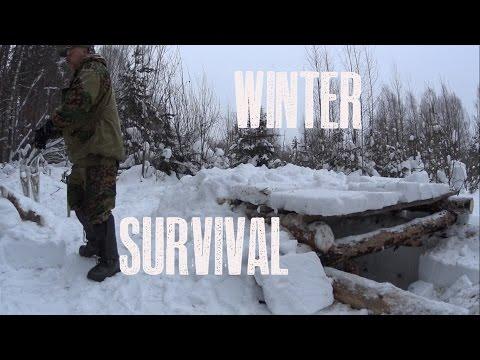 WW2 Bunker Snow Shelter