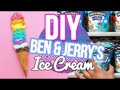 DIY Ben & Jerry's ICE CREAM (No Machine)