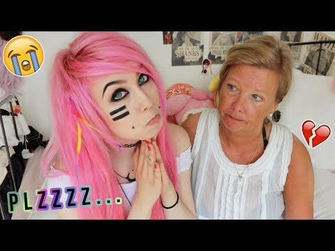 How to get your parents to let you Dye your hair & get Piercings