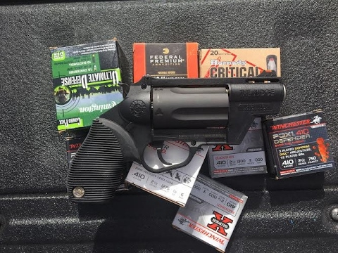 Here Come The Judge - .410 Defensive Ammo Testing