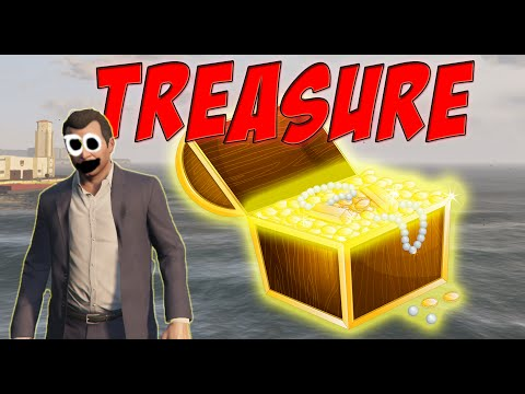 GTA V - Treasure Map [Mod Showcase]