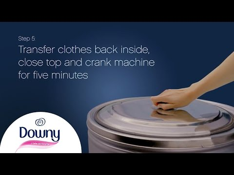 How To Use Fabric Softener - Non Auto | Downy