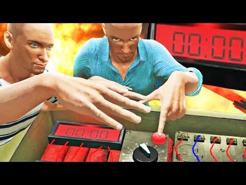 CAN WE DEFUSE BEFORE IT EXPLODES?! – Hand Simulator Funny Moments | Pungence