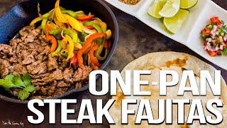 Download The Best Steak Fajitas - Easy Mexican Food Favorite | SAM THE COOKING GUY 4K Video