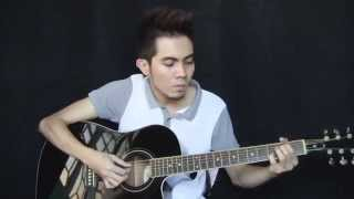 Ikaw at Ako - TJ Monterde cover (fingerstyle guitar   Free Tabs)