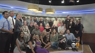 CBS2/KCAL9 Thanks Loyal Weather Watchers With Luncheon, Studio Tour