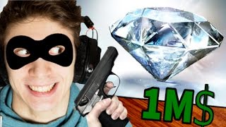 RUBARE UN DIAMANTE DA 1 MILIONE DI DOLLARI! - Sneak Thief - #3