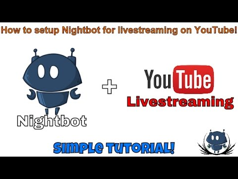 Nightbot Setup Tutorial for YouTube and Twitch Livestreaming!