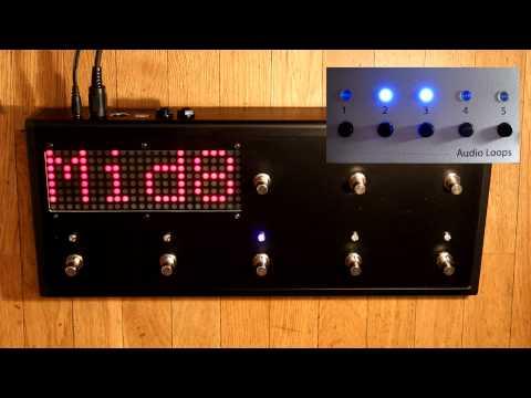 MegaBeat Audio - MIDI Footcontroller (Prototype) [ENG]