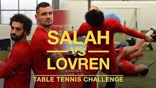 Salah vs Lovren: Lunar New Year Table Tennis Challenge