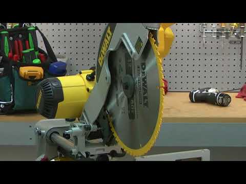 DeWALT Miter Saw Repair - How to Replace the Lower Guard