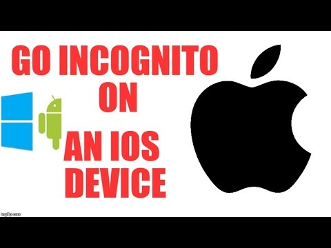 378) How to enable incognito mode in ios smartphone?
