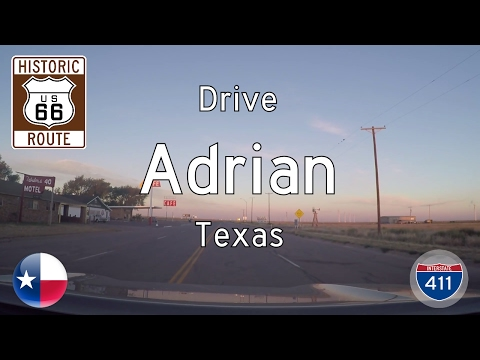 Historic Route 66 - Adrian - Texas | Drive America's Highways 🚙
