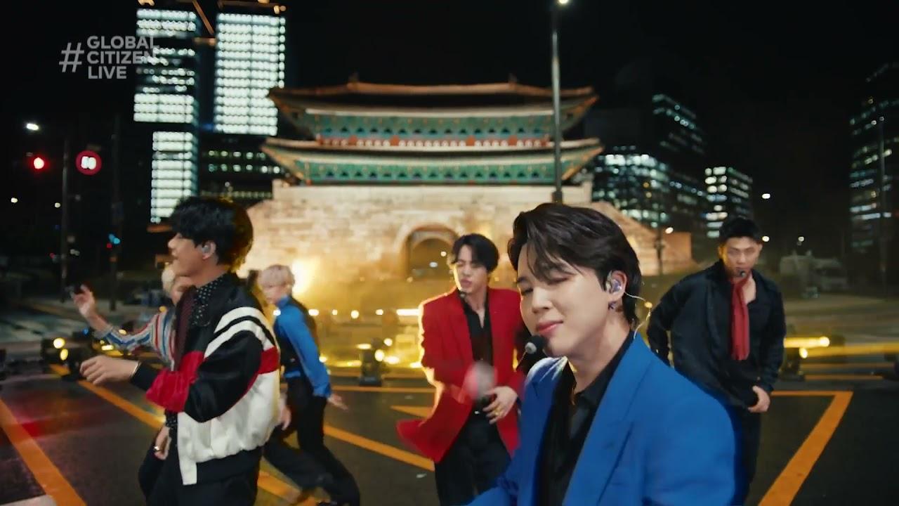 BTS Performs 'Butter' | Global Citizen Live